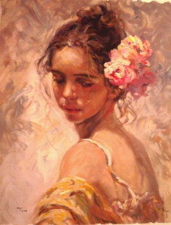 La Perla 2000 Embellished Limited Edition Print by  Royo