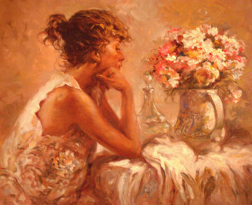 Pensativa 2000 Embellushed Limited Edition Print by  Royo