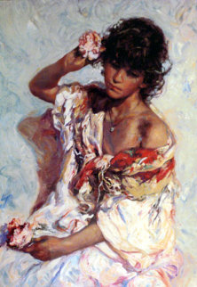 El Adorno Embellished Limited Edition Print by  Royo