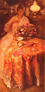 Winter 2001 Embellished Limited Edition Print by  Royo