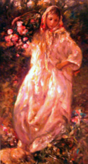 Autumn Embellished Limited Edition Print by  Royo