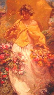 Spring Embellished 2002 Limited Edition Print by  Royo