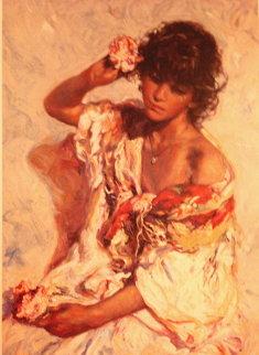 El Adorno Embellished Limited Edition Print by  Royo