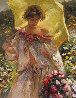 Lucia Paseando 1999 40x30 Original Painting by  Royo - 0