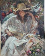 Sol Y Sombra on Panel 2003 Limited Edition Print by  Royo - 1