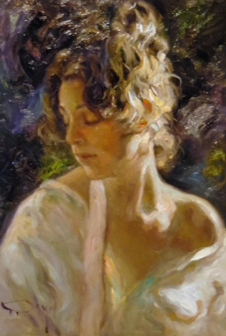 Reflejo De Luz 2002 22x15 Original Painting by  Royo