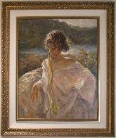 Dulzura (Sweetness) 2002  Original Painting by  Royo - 1