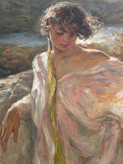 Dulzura (Sweetness) 2002 42x48 Original Painting by  Royo