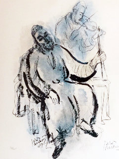 Untitled Lithograph 1967 Limited Edition Print by Reuven Rubin