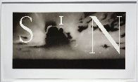 Sin / without  2002 Limited Edition Print by Edward Ruscha - 0