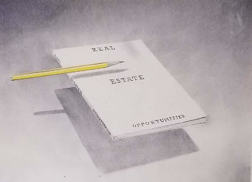 From the Bookcovers Portfolio: Real Estate Opportunities 1970 Limited Edition Print by Edward Ruscha