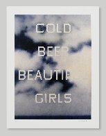 Cold Beer Beautiful Girls Unique TP 2009 Limited Edition Print by Edward Ruscha - 1