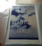 Cold Beer Beautiful Girls Unique TP 2009 Limited Edition Print by Edward Ruscha - 3