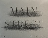 Main Street 1990 Limited Edition Print by Edward Ruscha - 2