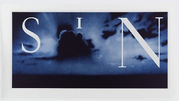 Sin - Without 2003 Limited Edition Print by Edward Ruscha