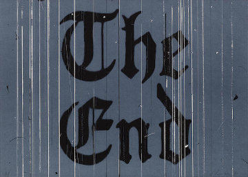 The End AP 1991 Limited Edition Print by Edward Ruscha
