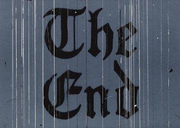 The End AP 1991 Limited Edition Print - Edward Ruscha