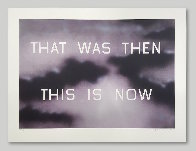 That Was Then This Now 2014 Limited Edition Print by Edward Ruscha - 1