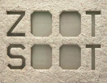 Zoot Soot (Dedicated to the Memory of Richard Duardo) 2015 Limited Edition Print by Edward Ruscha
