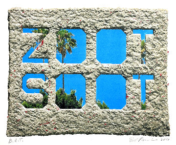 Zoot Soot - Dedicated to the Memory of Richard Duardo Limited Edition Print - Edward Ruscha