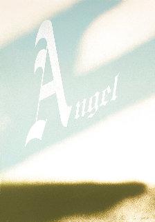 Angel Limited Edition Print - Edward Ruscha