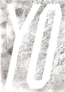 Yo 1991 Limited Edition Print - Edward Ruscha
