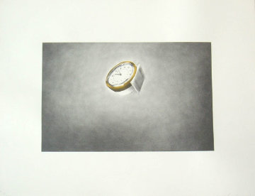 Domestic Tranquility, Clock Limited Edition Print - Edward Ruscha