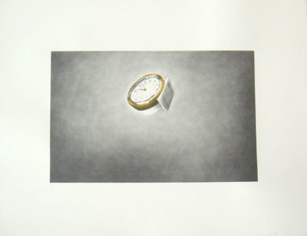 Domestic Tranquility, Clock Limited Edition Print by Edward Ruscha