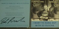 I Want To Hang Out With Ed Ruscha- Photo Booklet with CD  (In CD Case),. Other by Edward Ruscha - 1