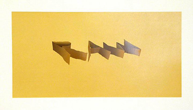 Raw 1971 Limited Edition Print by Edward Ruscha