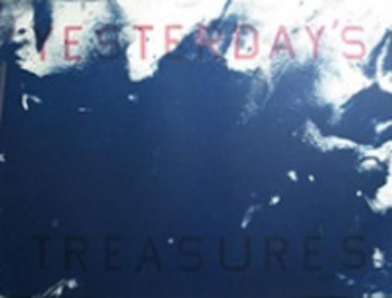 Yesterday's Treasures 1989, also signed by Joe Goode Limited Edition Print - Edward Ruscha
