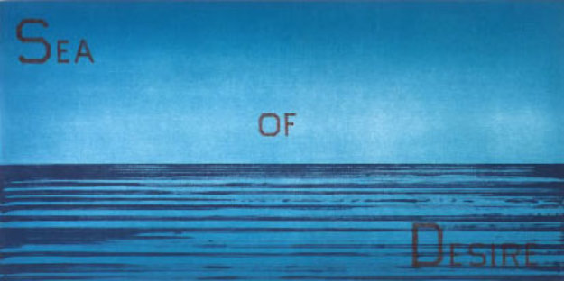 Sea of Desire Limited Edition Print by Edward Ruscha