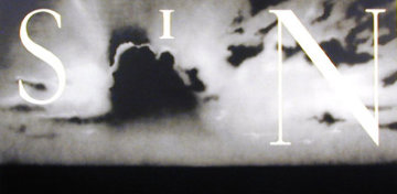 Sin Without 2002 Limited Edition Print by Edward Ruscha