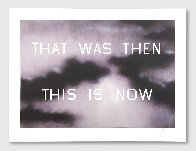That Was Then This Is Now 2014 TP Limited Edition Print by Edward Ruscha - 2