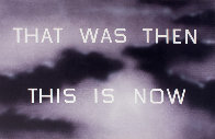 That Was Then This Is Now 2014 TP Limited Edition Print by Edward Ruscha - 3