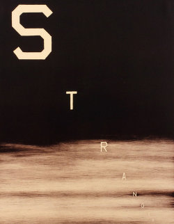 Stranger 1983 BAT Limited Edition Print - Edward Ruscha