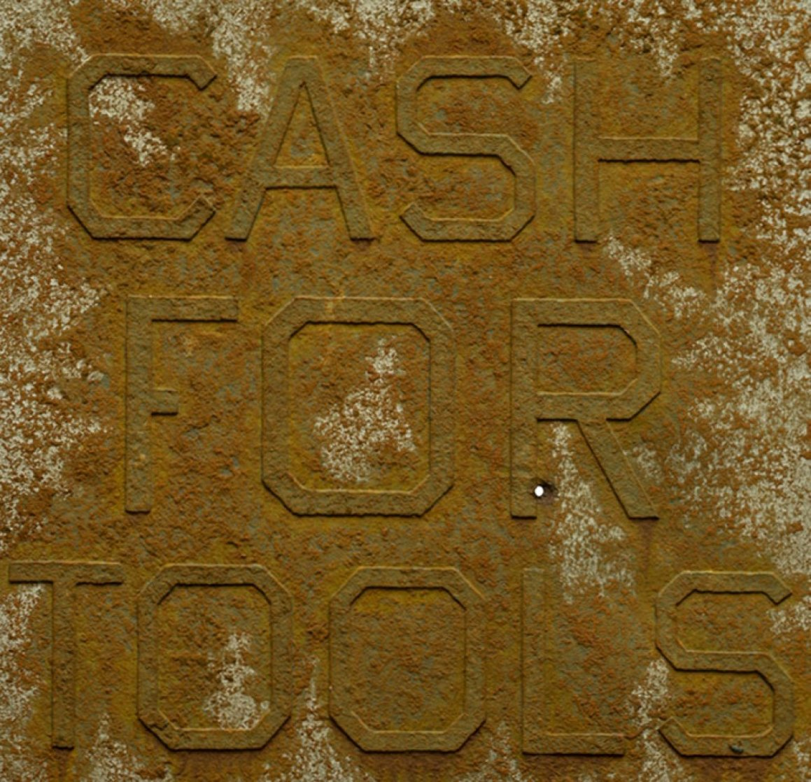 Cash For Tools #2, From Rusty Signs 2014 Limited Edition Print by Edward Ruscha