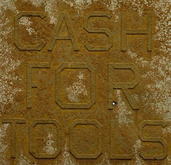 Cash For Tools #2, From Rusty Signs 2014 Limited Edition Print - Edward Ruscha