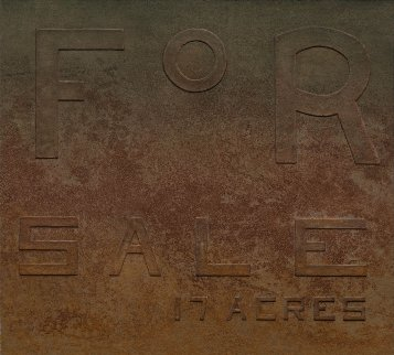 For Sale 17 Acres: Rusty Signs Suite 2014 Limited Edition Print by Edward Ruscha