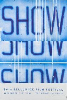 26th Telluride Film Festival Poster HS Limited Edition Print - Edward Ruscha