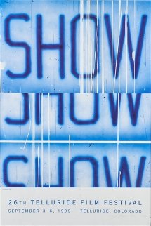 26th Telluride Film Festival Poster HS Limited Edition Print by Edward Ruscha