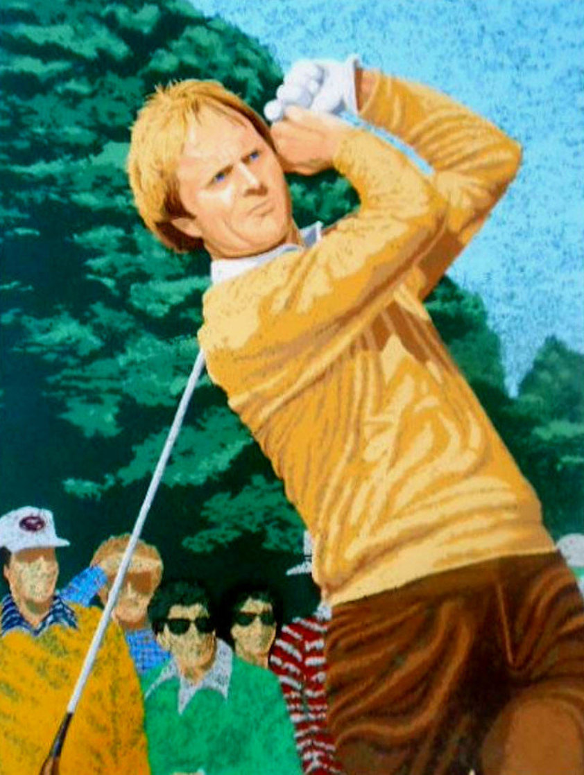 Jack Nicklaus 1981 Limited Edition Print by Rick Rush