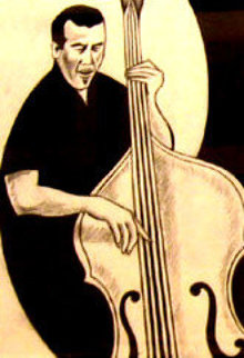 Feel the Bass 14x11 Works on Paper (not prints) by Jay Russell