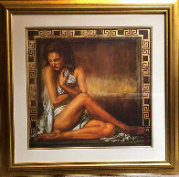 Girl With Greek Key 1998  Limited Edition Print by Tomasz Rut - 1