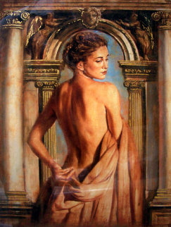 Girl with Columns Limited Edition Print by Tomasz Rut
