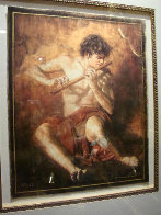 Boy with the Flute Limited Edition Print by Tomasz Rut - 1