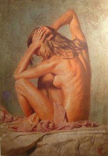 Dido 2003 60x48 Super Huge Original Painting - Tomasz Rut