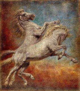 In Fervo 2015 72x63 Original Painting - Tomasz Rut