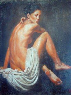 Umbrea 2005 56x48 Original Painting - Tomasz Rut