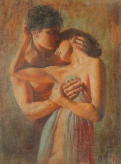 Teneritas 2003 59x48 Original Painting - Tomasz Rut